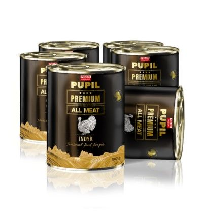 PUPIL Premium All Meat Gold indyk 6 x 800 g